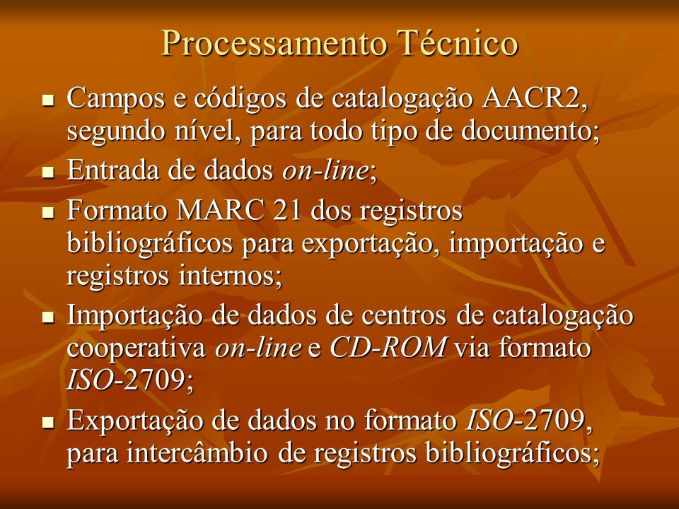 Processamento Técnico