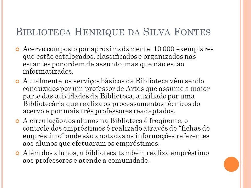 Biblioteca Henrique da Silva Fontes