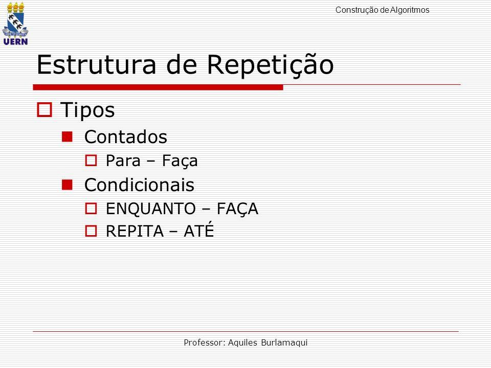 Estrutura de Repetição