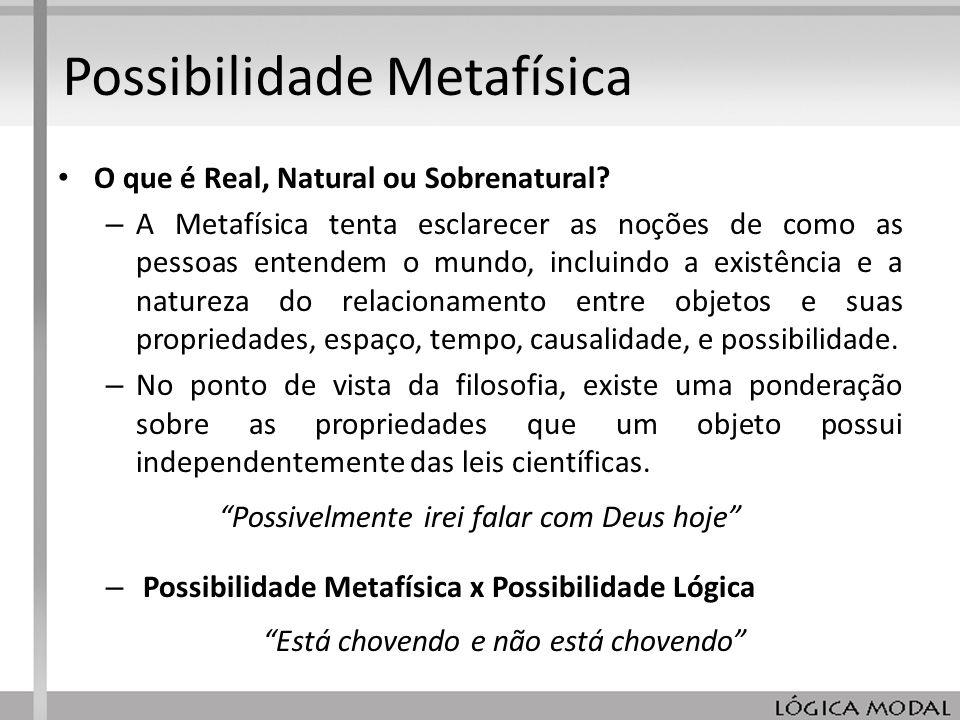 Possibilidade Metafísica