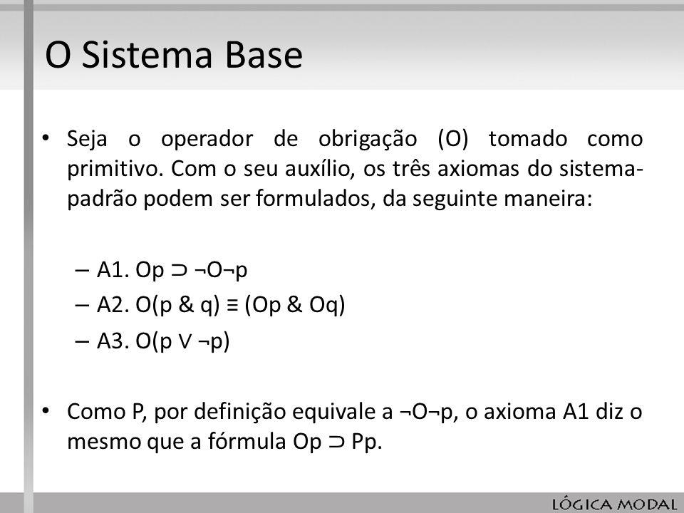 O Sistema Base