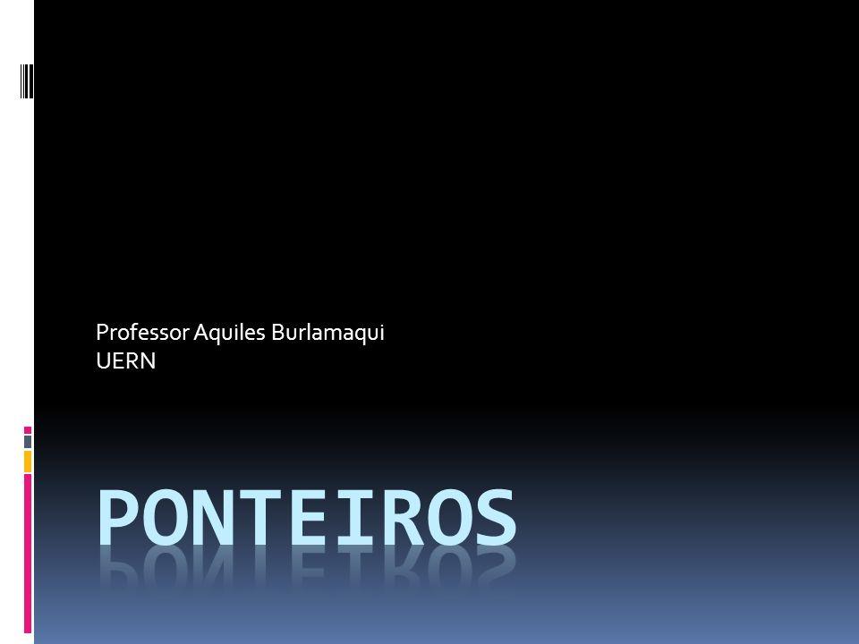 Professor Aquiles Burlamaqui UERN