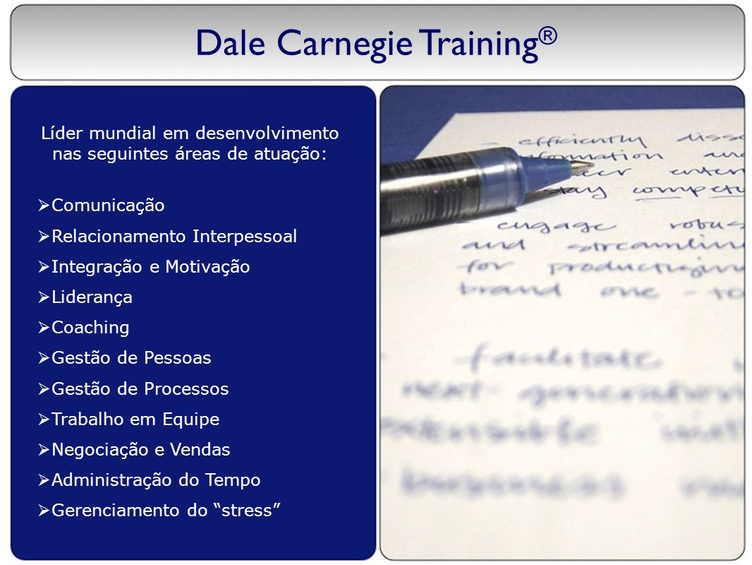how to become a dale carnegie trainer