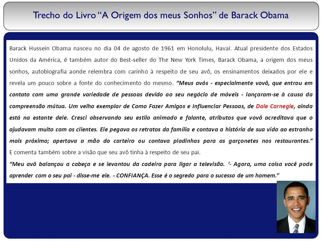 Trecho do Livro A Origem dos meus Sonhos de Barack Obama