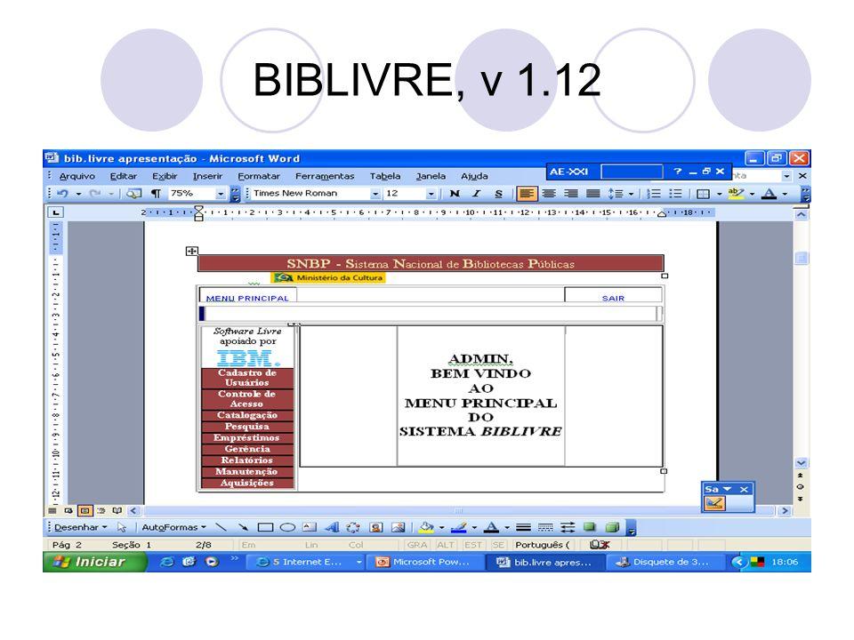 BIBLIVRE, v 1.12