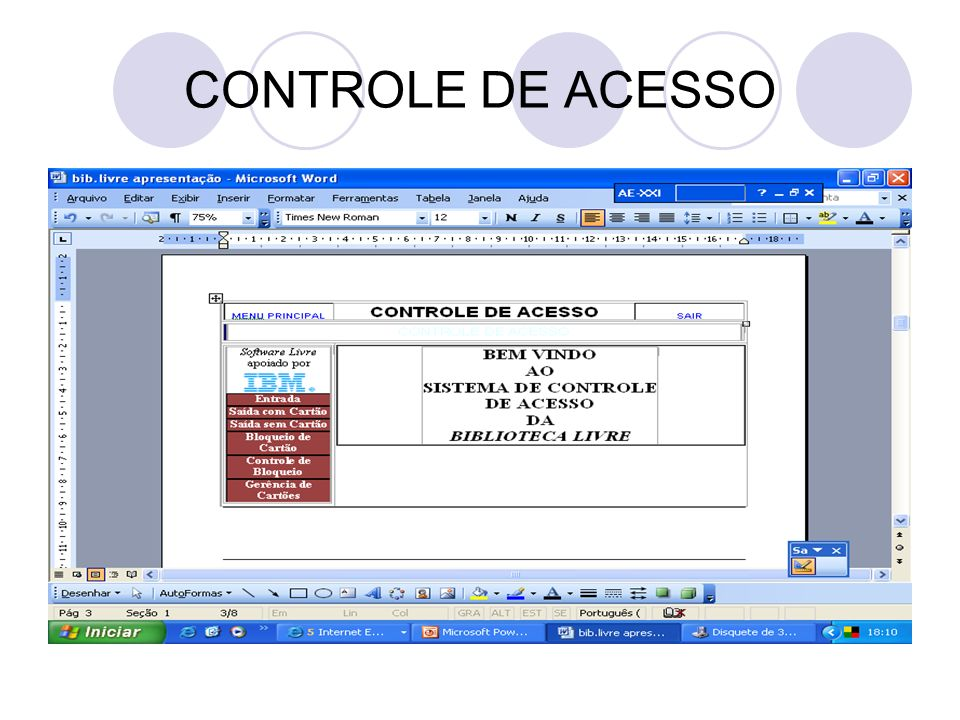 CONTROLE DE ACESSO