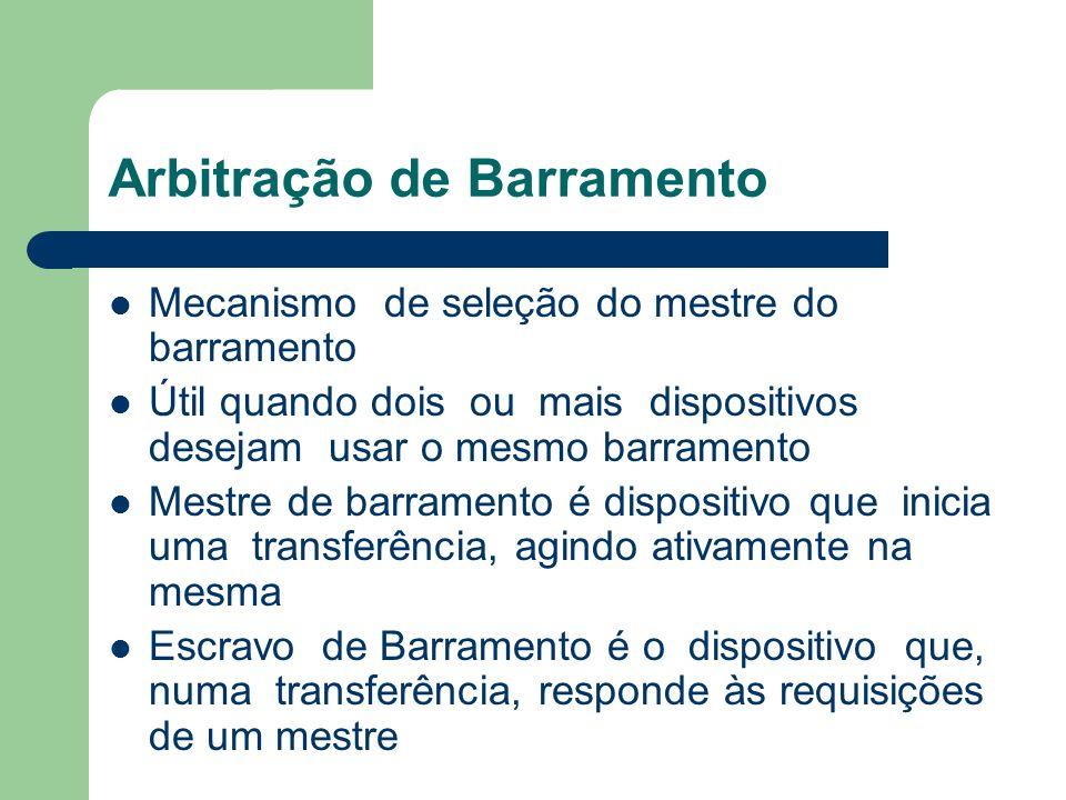 Arbitração de Barramento
