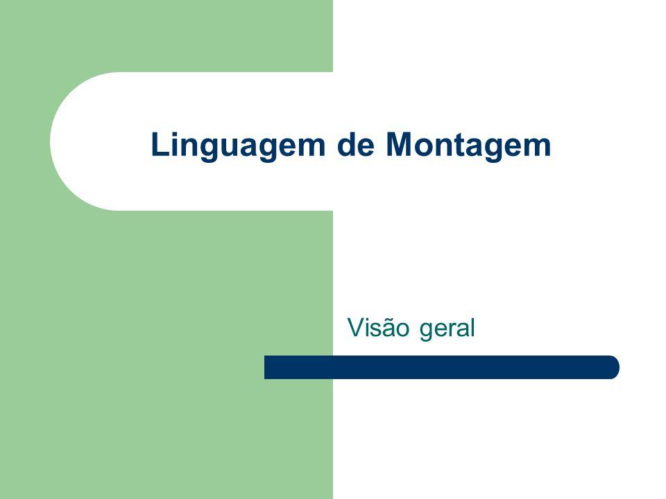 Linguagem de Montagem Visão geral