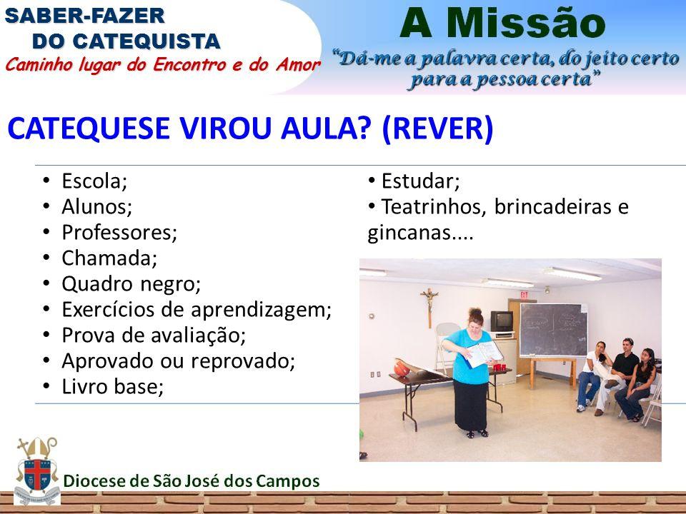 CATEQUESE VIROU AULA (REVER)