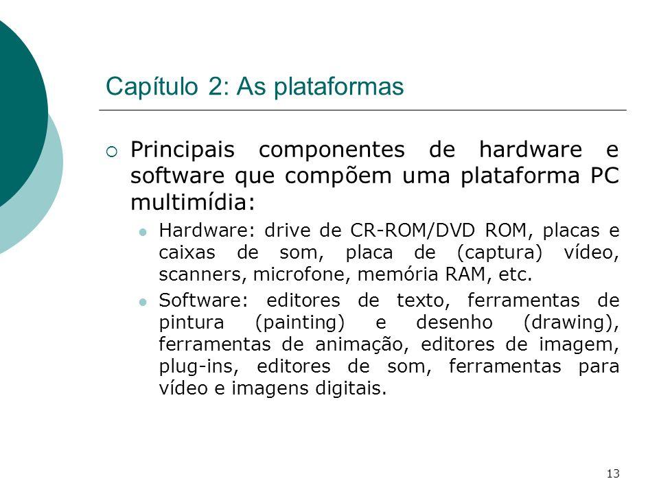Capítulo 2: As plataformas