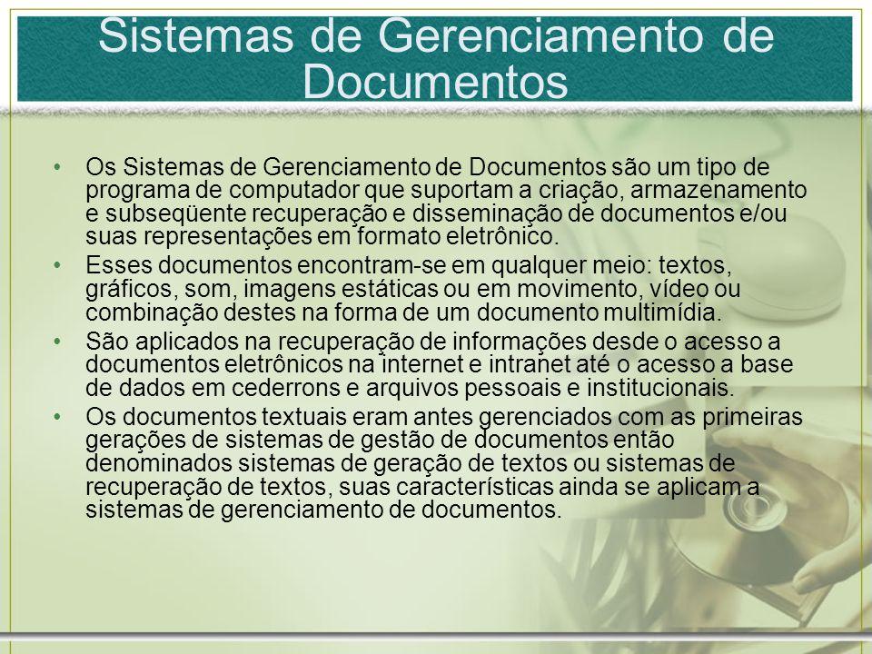 Sistemas de Gerenciamento de Documentos