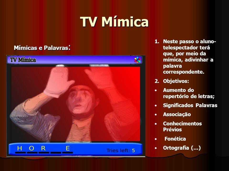 TV Mímica Mímicas e Palavras:
