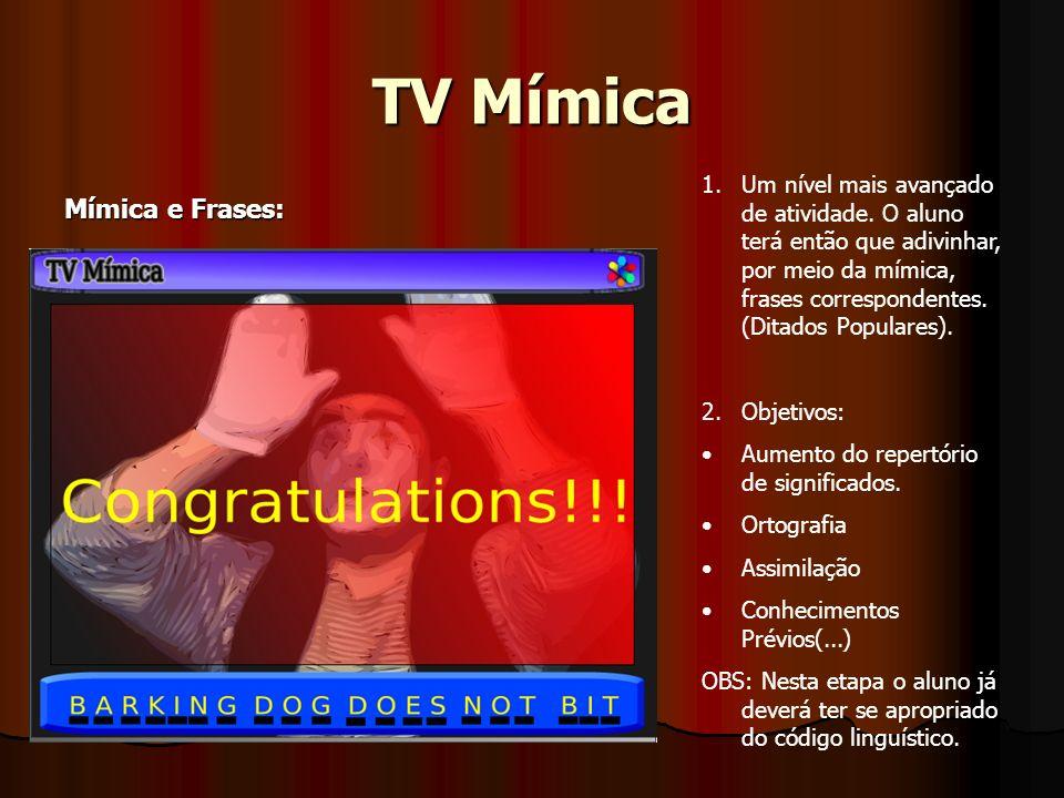 TV Mímica Mímica e Frases: