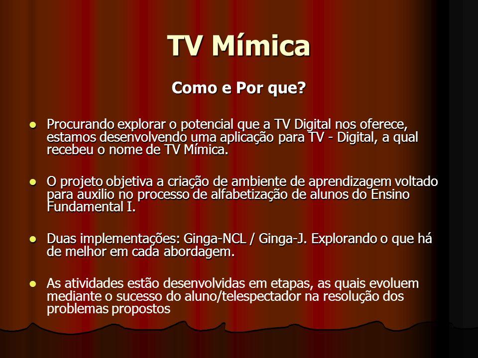 TV Mímica Como e Por que