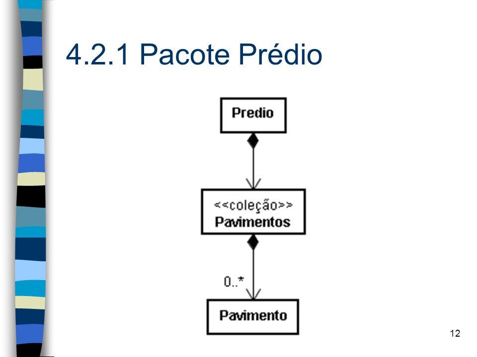 4.2.1 Pacote Prédio