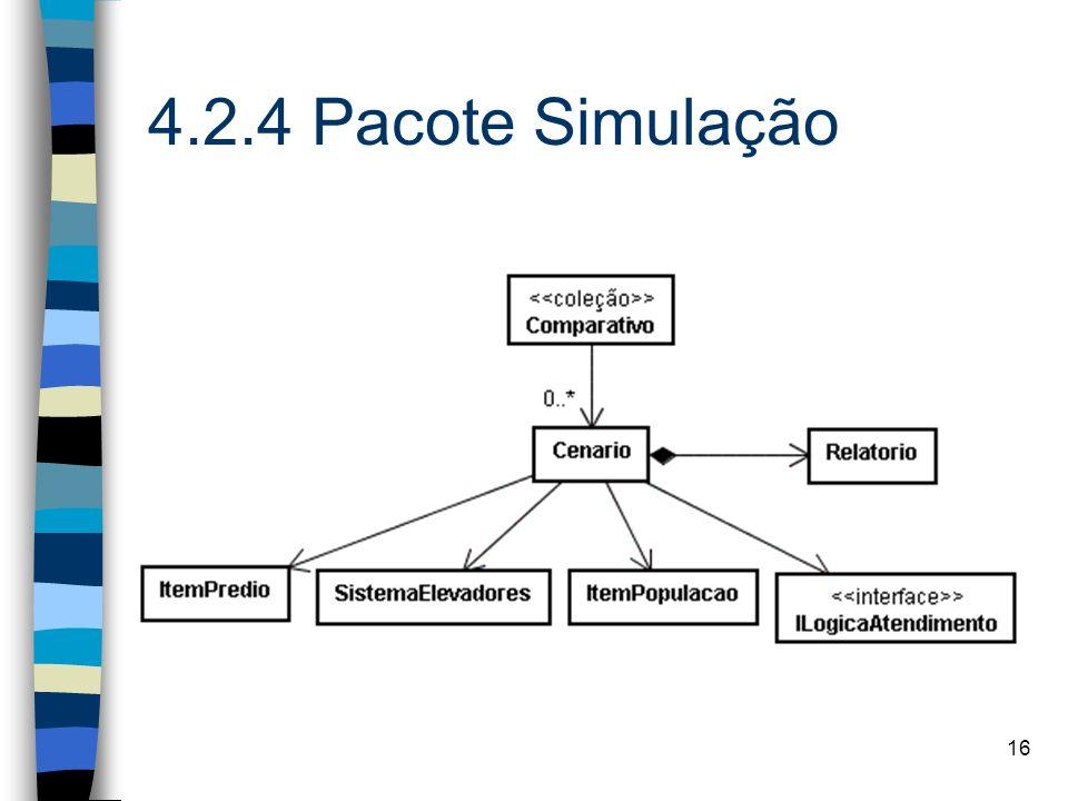4.2.4 Pacote Simulação