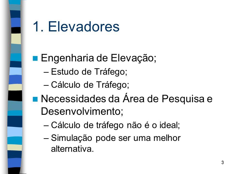 1. Elevadores Engenharia de Elevação;