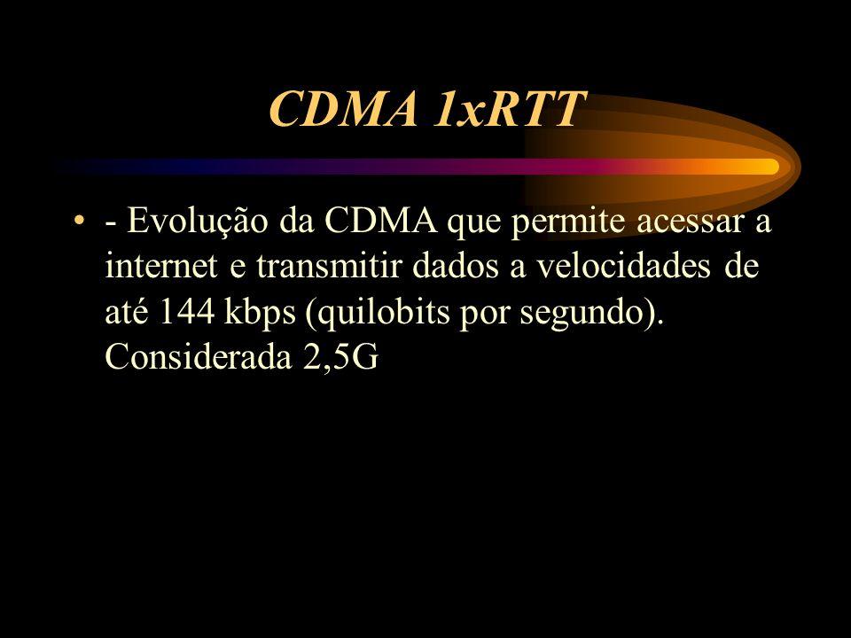 CDMA 1xRTT
