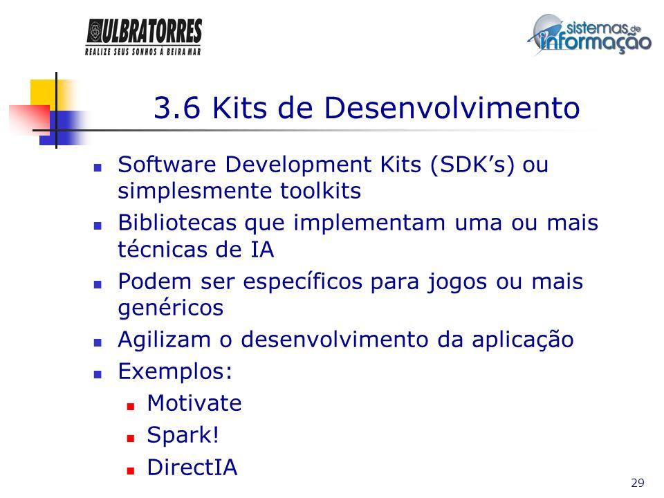 3.6 Kits de Desenvolvimento
