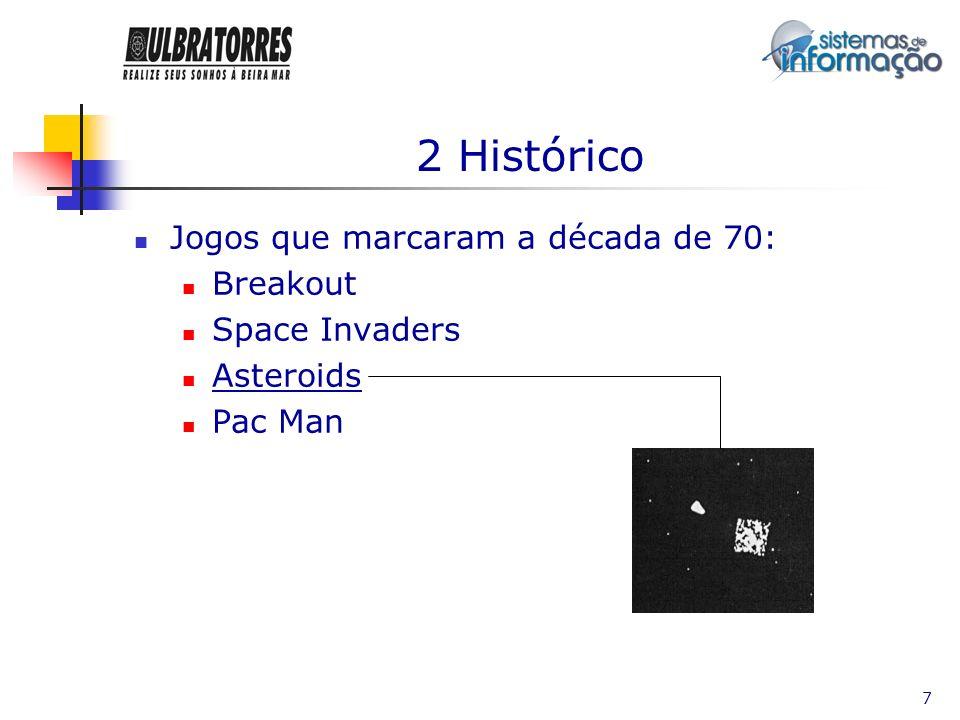 2 Histórico Jogos que marcaram a década de 70: Breakout Space Invaders