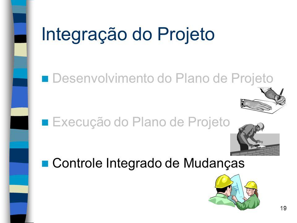 Integração do Projeto Desenvolvimento do Plano de Projeto