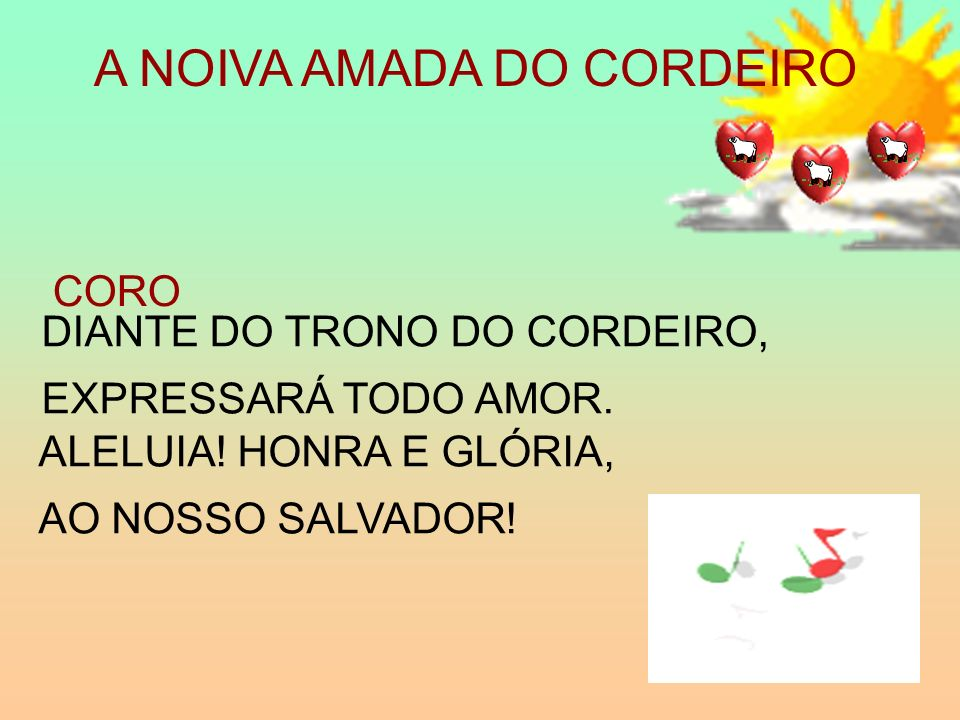 A NOIVA AMADA DO CORDEIRO