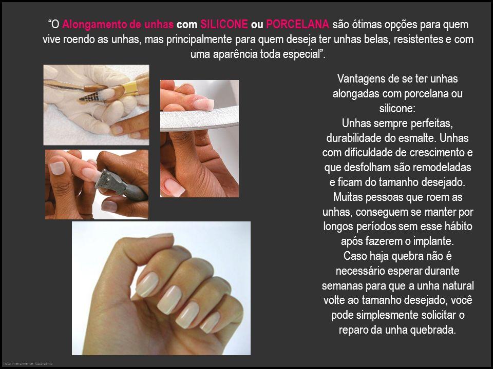 Vantagens de se ter unhas alongadas com porcelana ou silicone: