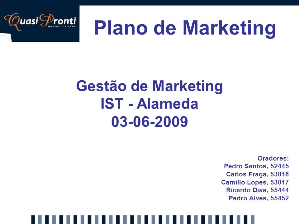Gestão de Marketing IST - Alameda 03-06-2009