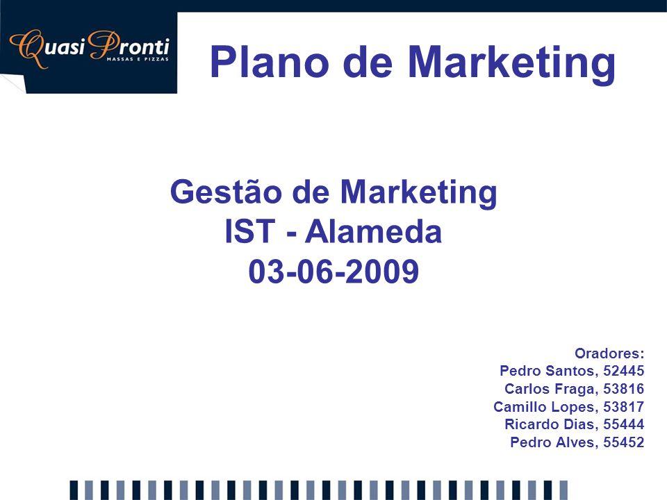 Gestão de Marketing IST - Alameda 03-06-2009