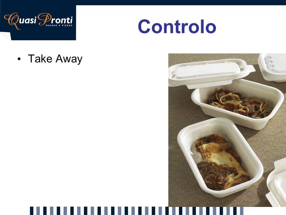 Controlo Take Away Proposta: Incluir take-away nos restaurantes