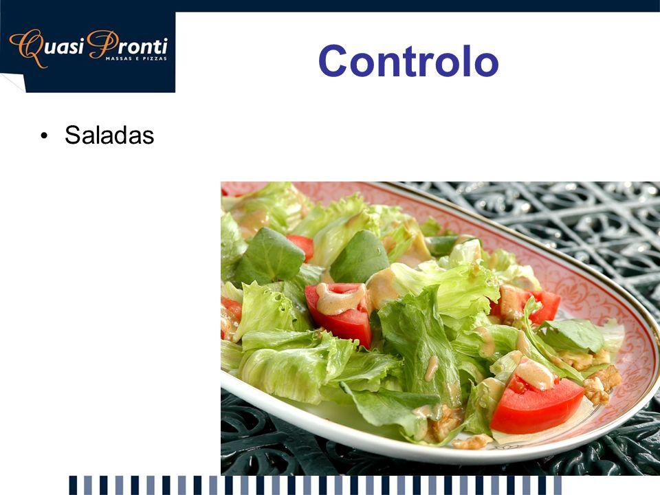 Controlo Saladas. Proposta: Possibilidade de adicionar uma salada à refeição. Descrição: Face aos comentários/sugestões dos inquiridos, propomos um.
