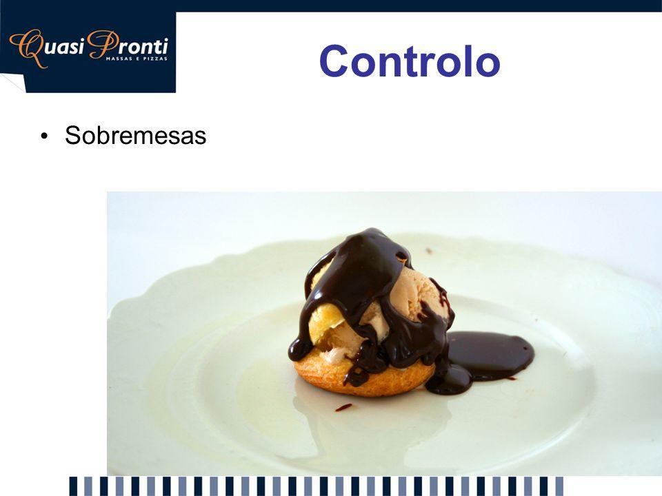 Controlo Sobremesas Proposta: Inclusão de sobremesas