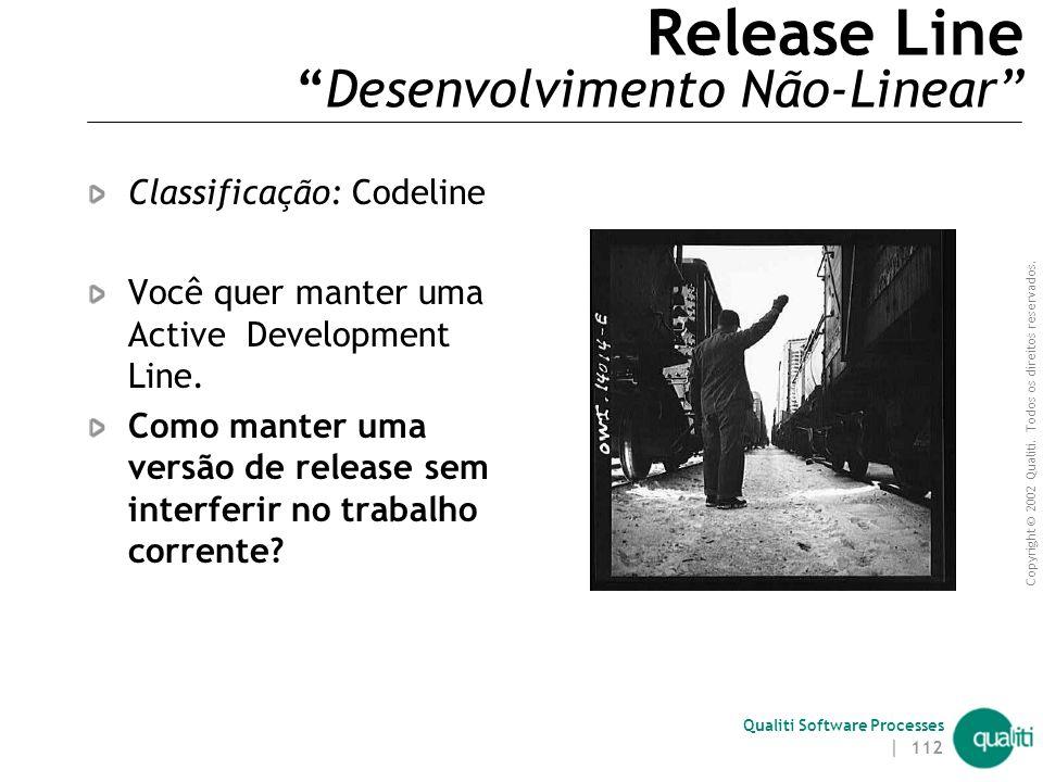 Release Line Desenvolvimento Não-Linear
