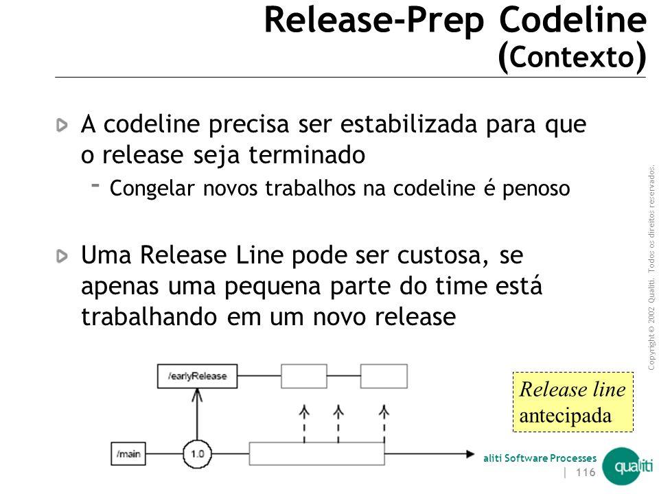 Release-Prep Codeline (Contexto)