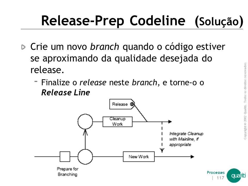 Release-Prep Codeline (Solução)