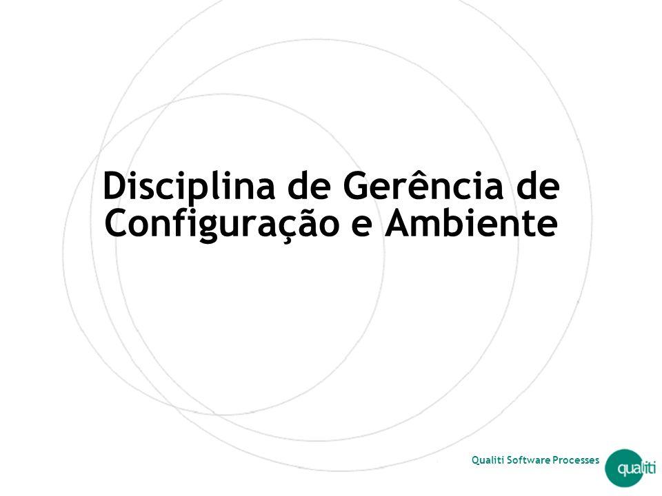 Disciplina de Gerência de Configuração e Ambiente