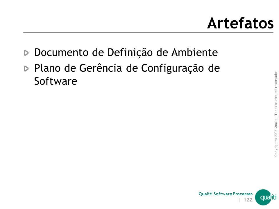 Artefatos Documento de Definição de Ambiente