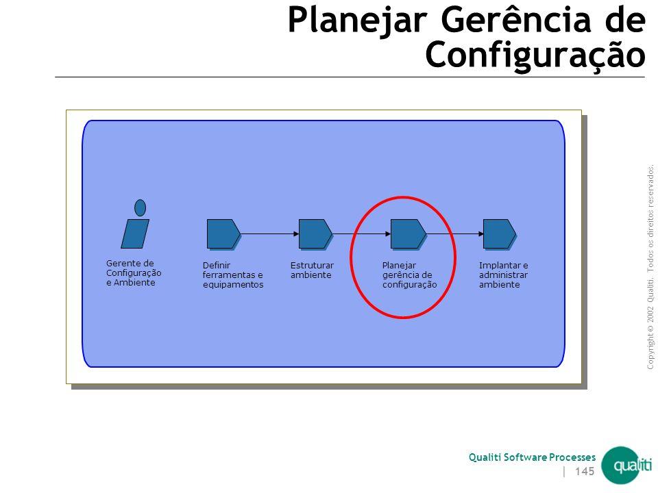Planejar Gerência de Configuração