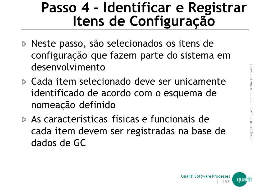 Passo 4 – Identificar e Registrar Itens de Configuração