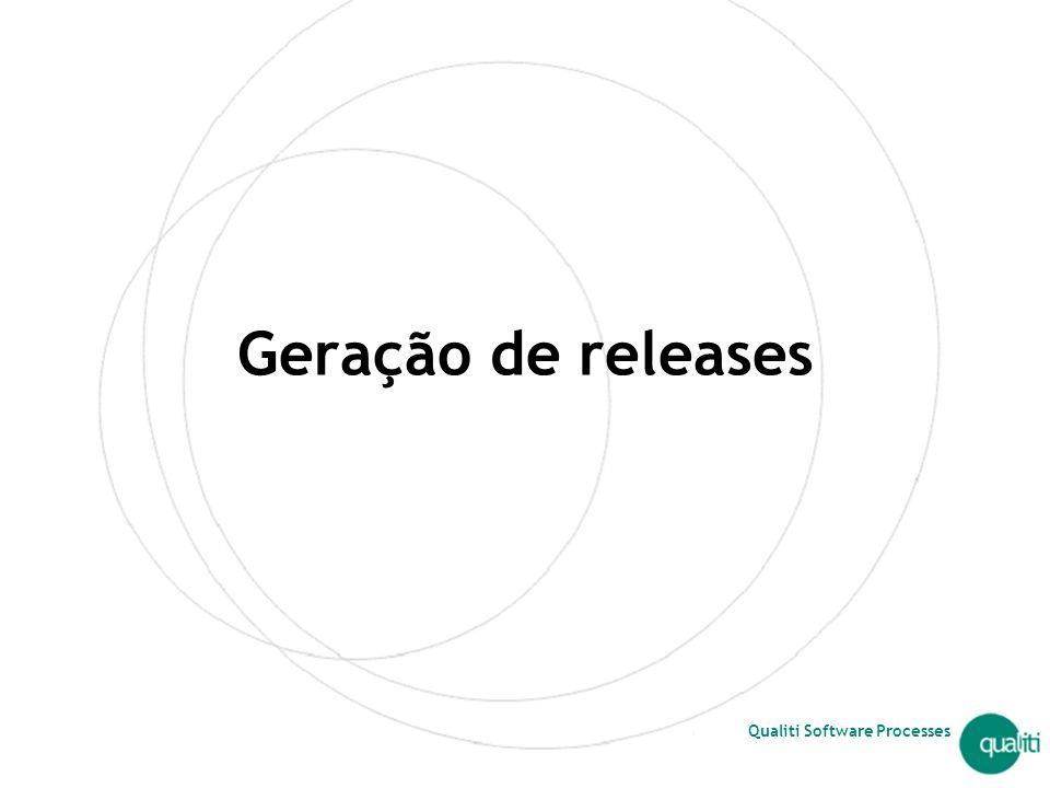 Geração de releases Introdução