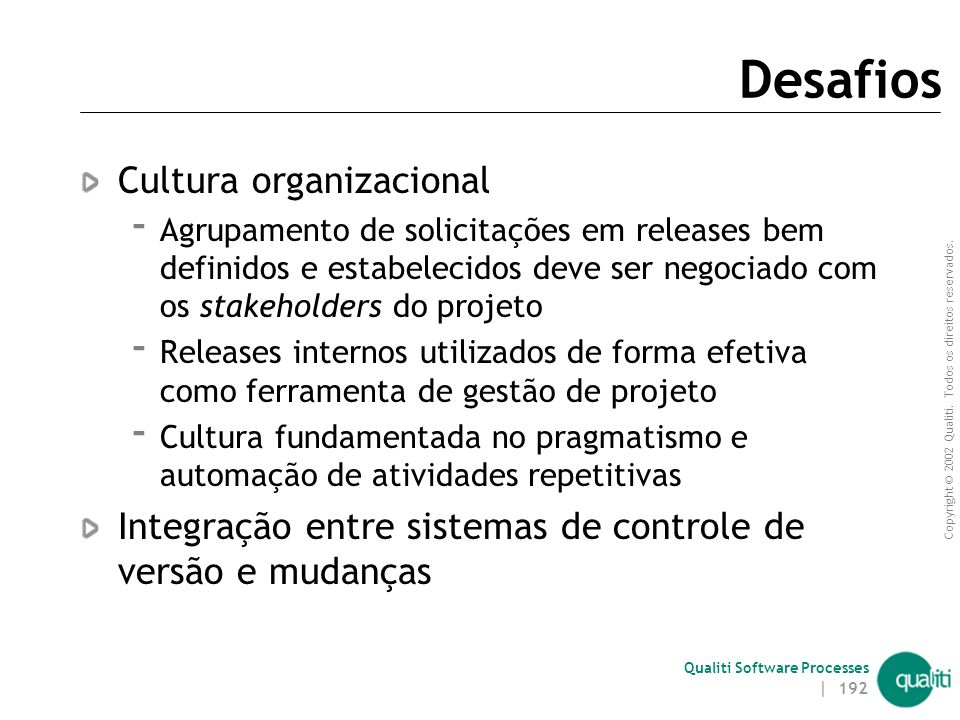 Desafios Cultura organizacional