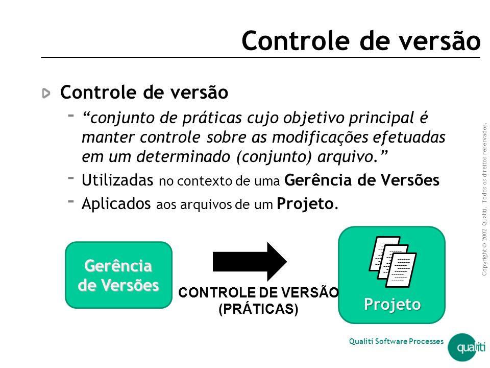 Controle de versão Controle de versão