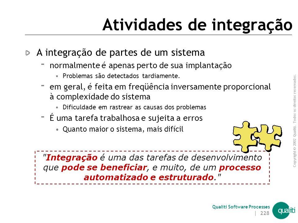 Atividades de integração