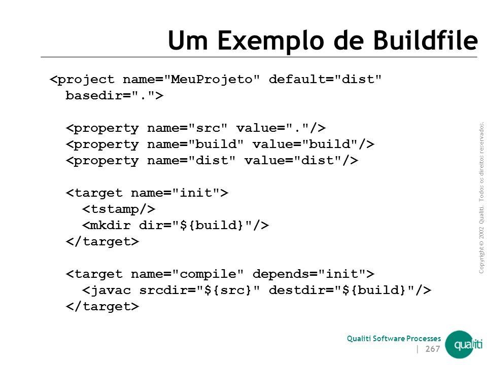 Um Exemplo de Buildfile