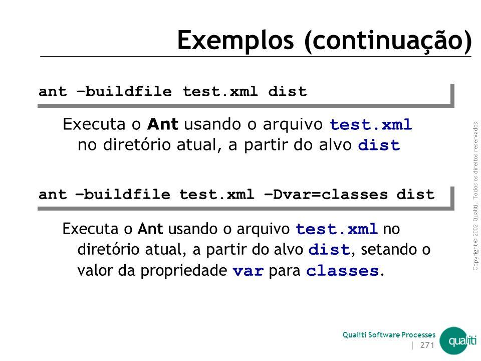 Exemplos (continuação)