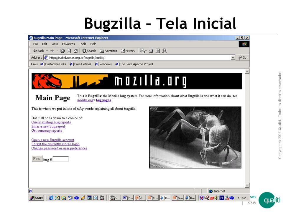 Bugzilla – Tela Inicial