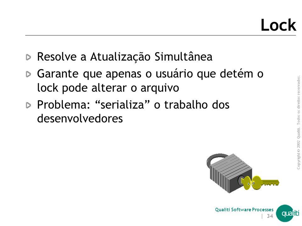 Lock Resolve a Atualização Simultânea