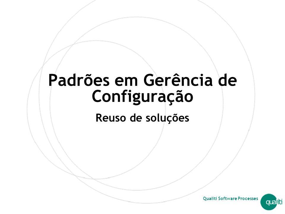 Padrões em Gerência de Configuração