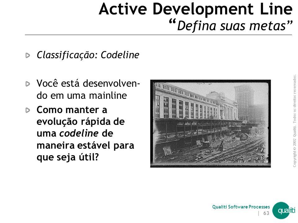 Active Development Line Defina suas metas