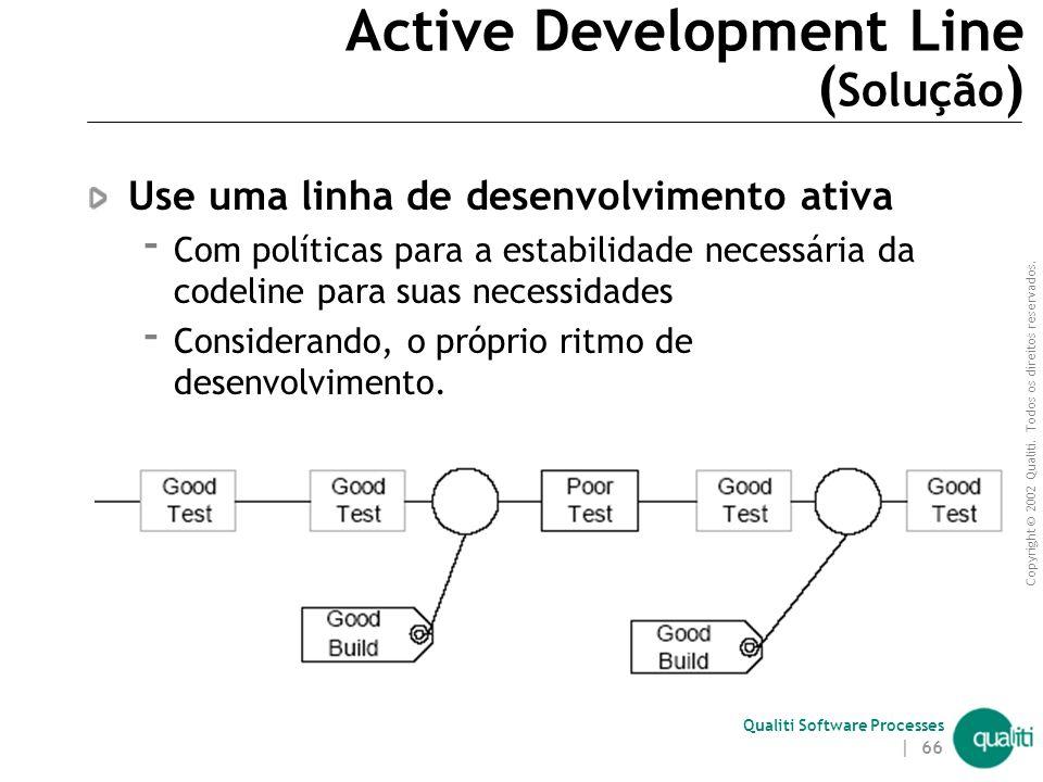 Active Development Line (Solução)